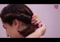 Best 2 quickeasy indian bun hairstyles for sareeanarkalilehnga Simple Hairstyle For Short Hair On Saree Choices
