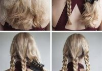 Best 20 adorable hairstyles for school girls Cute Easy Hairstyles For Short Hair For School Inspirations