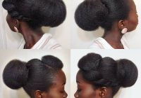 Best 20 beautiful natural hair updos trending this year Updo Hairstyles Natural African American Hair