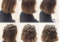 Best 20 incredible diy short hairstyles a step step guide Easy Updos For Short Hair Casual Inspirations