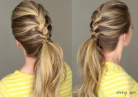 Best 21 braids for long hair with step step tutorials Easy Braided Hairdos For Long Hair Choices