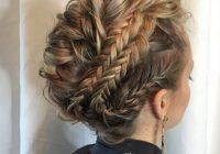 Best 27 super trendy updo ideas for medium length hair popular Prom Updos For Medium Hair With Braids Ideas