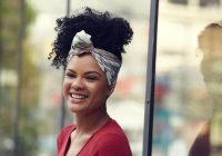 Best 56 best natural hairstyles and haircuts for black women in 2020 Updo Hairstyles Natural African American Hair