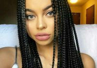 Best box braids with two small bun box braids styling braided Box Braids Hairstyles Inspirations