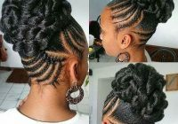 Best braided updos for black hair natural hair styles for black African Hair Braiding Styles Updos Inspirations