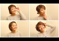 Best easy hairstyles when growing out your hair Growing Out A Short Haircut Styling Tips Inspirations