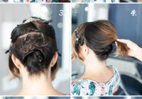 Best pretty simple updo for short hair camille styles Cute Updos For Short Hair Tutorials Choices