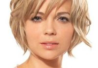 Best short haircuts for chub faces Short Hairstyles For Oval Faces With Double Chin Inspirations