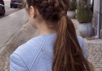 Best simple braided hairstyles for thick hair Braided Hairstyles For Thick Layered Hair Inspirations