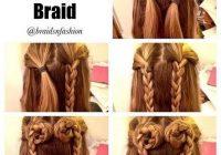 Best step step long hair braids easy hairstyles step step Easy Hairstyles For Long Hair Braids Step By Step Ideas