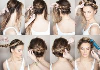 Best sunkissed and made up braided crown hairstyles hair Braided Hairstyles For Long Hair Tutorials Choices