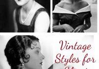 Best vintage styles for short hair Vintage Hair Styles For Short Hair Choices