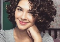 Best women27scuteshortcurlyhairstylesfor2017spring Cool Hairstyles For Curly Short Hair Ideas