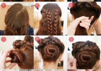 braided updo tutorial for long and thick hair edited Long Hair Braid Updo Tutorial Inspirations