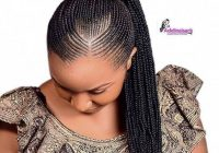 check out for latest ghana weaving styles 2019latest ghana Fishtail Cornrows Hairstyles In Africa