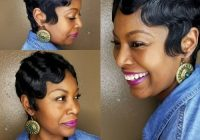 Cozy 27 hottest short hairstyles for black women for 2020 African American Short Weave Hairstyles Designs