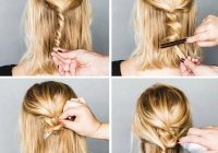 easy formal hairstyles for short hair hairstyle tutorials Updo Hairstyles For Short Hair Pinterest Choices