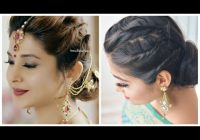 easy hairstyle with saree jennifer winget hairstyle Party Hairstyle For Short Hair With Saree Choices