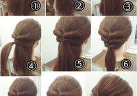 easy hairstyles step step for medium hair hairstyles Cute Hairstyle For Short Hair Step By Step Choices