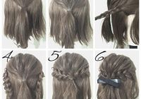easy prom hairstyle tutorials for girls with short hair Cute Updos For Short Hair Tutorials Inspirations