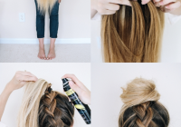 Elegant 14 ridiculously easy 5 minute braided hairstyles hair Easy Braided Hairdos For Long Hair Inspirations