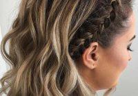 Elegant 18 medium length hairstyles for thick hair in 2020 short Braided Hairstyles For Thick Layered Hair Ideas