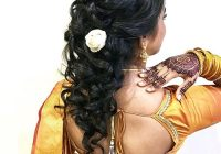 Elegant 20 divine hairstyles to complement your saree Party Hairstyle For Short Hair With Saree Choices