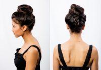 Elegant 21 braids for long hair with step step tutorials Long Hair Braid Updo Tutorial Inspirations