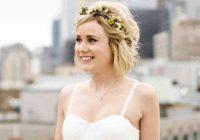 Elegant 22 wedding hairstyles for short hair updos half up more Short Hairstyle Ideas For Weddings Ideas