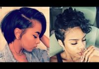 Elegant 28 best short hairstyles for black women with relaxed hair 2018 2019 Ways To Style Short African American Hair Designs