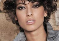 Elegant 30 easy hairstyles for short curly hair the trend spotter Haircut Styles For Curly Short Hair Ideas