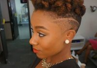 Elegant 40 mohawk hairstyle ideas for black women in 2020 short Mohawk Haircuts For African American Women Designs