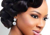 Elegant 42 black women wedding hairstyles that full of style African American Girl Hairstyles For Weddings Designs