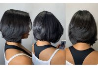 Elegant 50 best bob hairstyles for black women pictures in 2019 African American Layered Bob Hairstyle Photos Designs