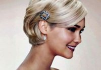 Elegant 50 superb wedding looks to try if you have short hair hair Short Hairdos For Wedding Guest Ideas