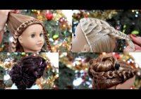 Elegant american girl doll holiday hairstyles 2017 Cool Hairdos For American Girl Dolls