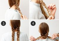 Elegant an easy braided hairstyle for any occasion more hair Easy Hairstyles For Long Hair Braids Step By Step Choices