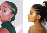 Elegant braided bun hairstyles on instagram Bun Styles With Braiding Hair Ideas