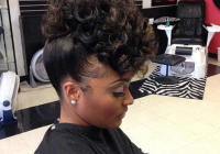 Elegant cute and simple updo hairlifeee black hair information Cute Pin Up Hairstyles For Short Natural Hair Inspirations