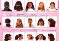 Elegant cute hairstyles for your american girl doll pictures Cute Hairstyles For American Girl Dolls With Curly Hair Ideas