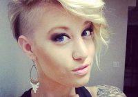 Elegant edgy hairstyles for short hair short shaved hairstyles Short Edgy Hair Styles Ideas