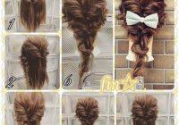 Elegant fashionable braid hairstyle for shoulder length hair hair Fashionable Braid Hairstyle For Shoulder Length Hair Inspirations