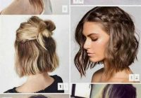 Elegant how to style short hair with pigtails and half doses how Good Ways To Style Short Hair Ideas