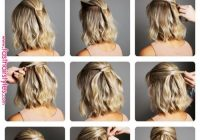 Elegant passo a passo para cabelos curtos pelo in 2019 pinterest Easy Hairdos For Short Hair Pinterest Choices