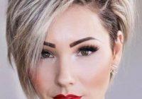 Elegant pin on hair Woman Short Hair Style Choices