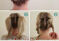 Elegant pin on no mom hair here Braid Bun Hairstyles For Medium Hair Inspirations