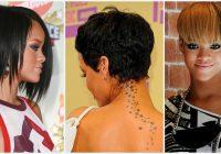 Elegant rihannas short hairstyles front and back view legitng Rhianna Short Hair Styles Choices