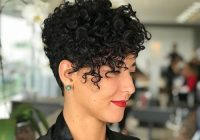 Elegant short curly pixie haircuts curly pixie hairstyles curly Haircut Styles For Curly Short Hair Inspirations