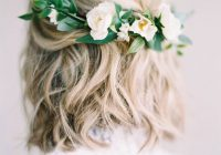 Elegant stunning short hairstyles for your wedding day southern living Short Hair Wedding Styles Pictures Ideas