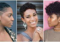 Elegant top 15 easy natural hairstyles for short hair Short Nappy Hair Styles Choices